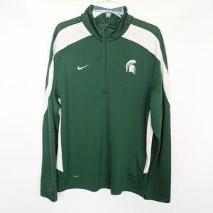 Nike Dri-Fit Michigan State quarter zip pullover